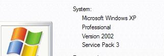 Windows Service Pack 3