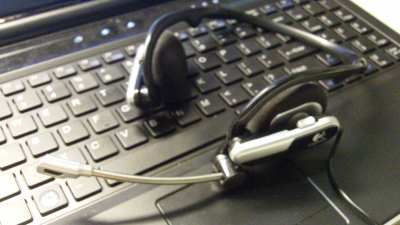 Image of a computer headset