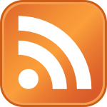 A big orange RSS feed icon